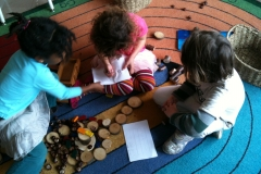 Ash Class: Kindergarten 2011-2012 - Drama, Letters, Nature Blocks, Cozy Reading, and Arts Centres