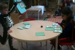 Ash Class: Kindergarten 2011-2012 - Go Fish!...with leaves.
